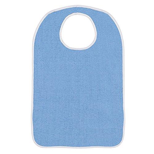Terry Bibs Set Of 3 Blue