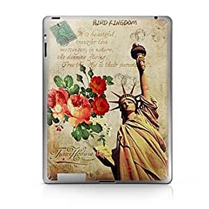 Statue of Liberty Pattern Protective Sticker for iPad 1/2/3/4