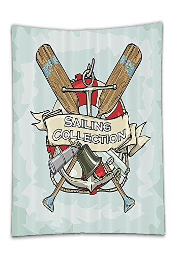 Chaoran Tablecloth Nautical Decor Set By quotSailing Collection