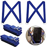 Labor-saving Lifting and Moving Straps, LANIAKEA 2-Person Furniture Teamstrap Lifting System with Shoulder