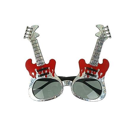 NIU MANG anteojos de Sol creativos para Guitarra de Rock ...