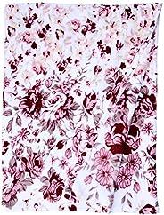 Manta Solteiro 200G Vivian Cor/Fleece Realce Estampa tecido