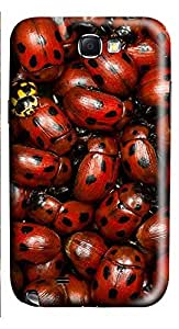 Samsung Note 2 Case Lady Bugs 3D Custom Samsung Note 2 Case Cover
