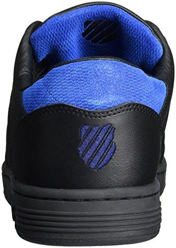 K-Swiss 5398, Zapatillas Hombre Negro (Black/Eclipse/Imperial Blue)