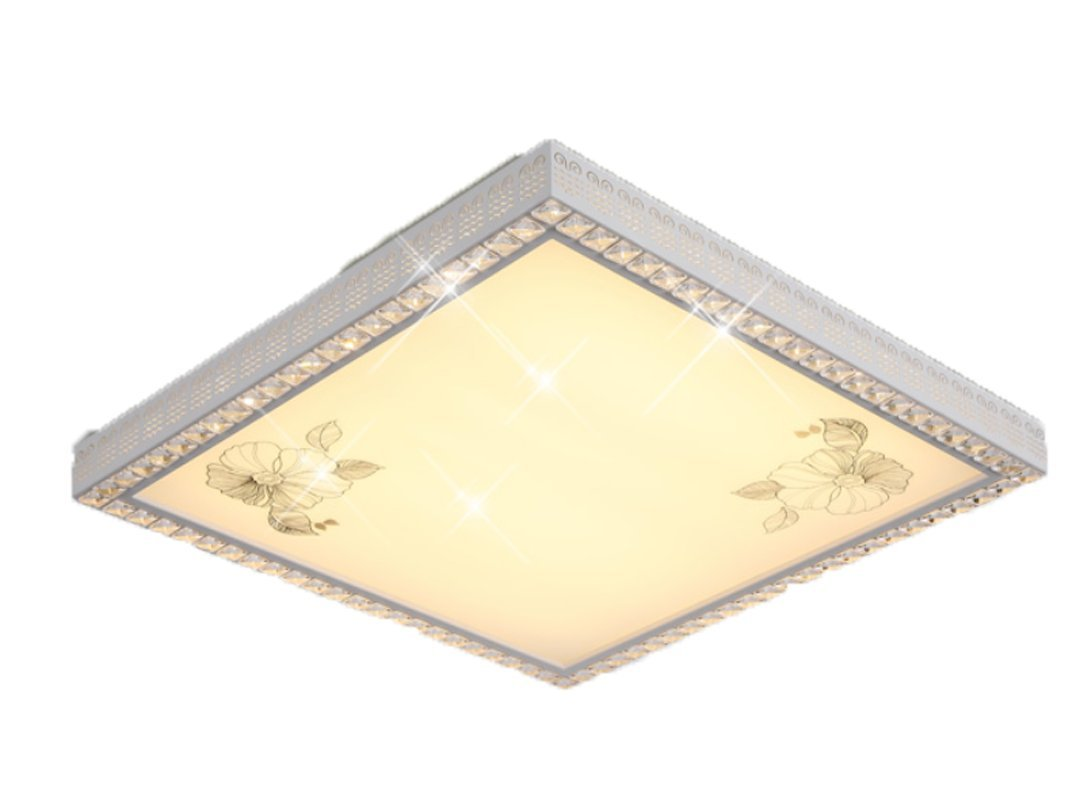 XIANGGU Luz Led Lampara De Techo Solar Colgante Luces Plafon De Araña Lámparaetnicas Salon Embellecedor Lampara Techo Juvenil Panel Blanco Rectangular ...
