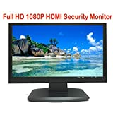 101AV Security Monitor 21.5 True Full HD monitor 1920 x 1080 HDMI VGA and Looping BNC outputs LED Wide Screen Audio Video Display Built-in Speaker for DVR (21.5 monitor 3D Comb Filter)