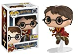 Funko Pop! Harry Potter On Broom, Limited Edition Summer Convention Exclusive, Concierge Collectors Bundle