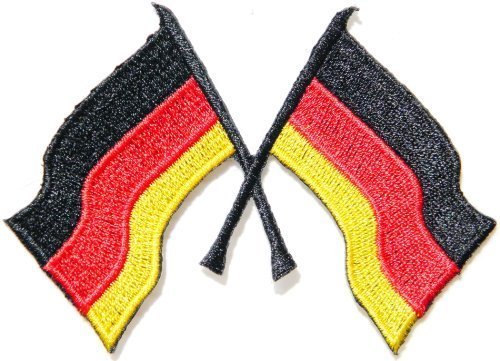German Germany Cross FlagRacing Army Military Logo biker Hog Outlaw motorcycle leather jackets custom patches - Motorcycles German Army