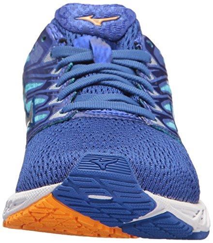 Yellow White 4 Wave Shoe Paradox Men's Dazzling Running Blue Mizuno xH6YnRP1