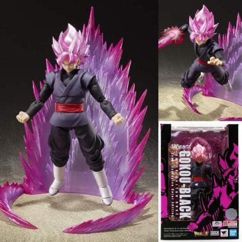 Anime Dragon Ball Z Black Super Gokou Rose S.H.Figuarts Saiyan Goku Figure