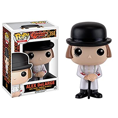 Funko POP Movies: Clockwork Orange - Alex Action Figure: Funko Pop Movies: Toys & Games