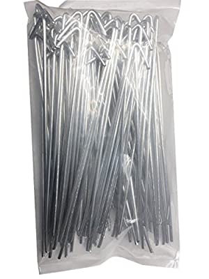 Robtec Robtec 8-1/4 in. 9-Gauge Aluminum Chain Link Fence Ties (Pack of 100)