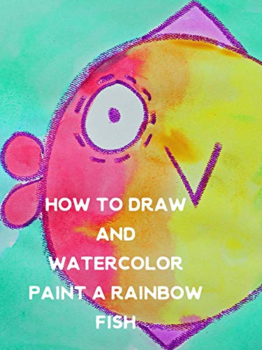 How to Draw and Watercolor Paint a Rainbow -