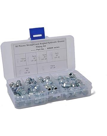 refrigeraci/ón y el dep/ósito 227s Para sistemas de ventilaci/ón Conector recto para tubos de 5/mm Pack de 5