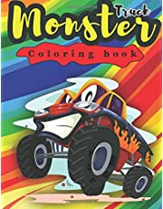 Monster Truck Coloring Book: 25 Trucks Your Children Will Love!