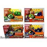 Fisher Price GeoTrax Geo Tracks Train Toy DC Batman Joker Green Lantern Set