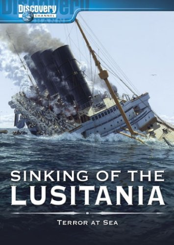 Sinking of the Lusitania by Unknown