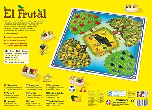 HABA Frutal, ESP (3403), emocionante Dados, con 40 Frutas de Madera y Reglas fáciles de Entender, Popular Juego de Mesa a Partir de 3 años. (HA3403): Amazon.es: Juguetes y juegos