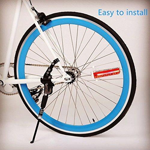 Bicycle Spoke Lights,32-LED Waterproof Bike Tire Spoke Lights Bike Rim LightsWith 32 Patterns, Energy-saving Automatic Mode and Manual Mode by Tivolii (Image #5)