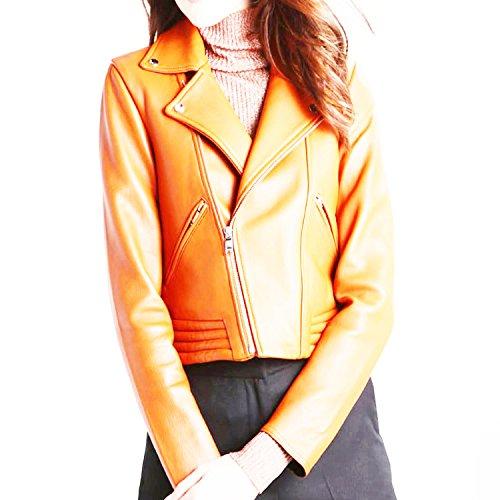 11sunshop - Chaqueta - Manga Larga - para mujer naranja