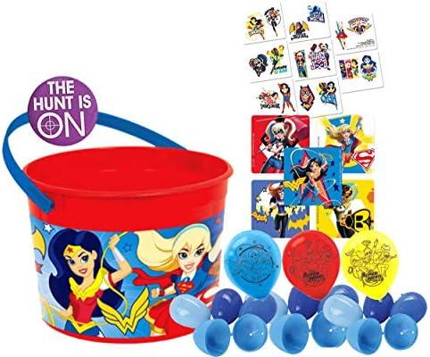 Amazon.com: DC Super Hero – Cubo de huevo de Pascua para ...