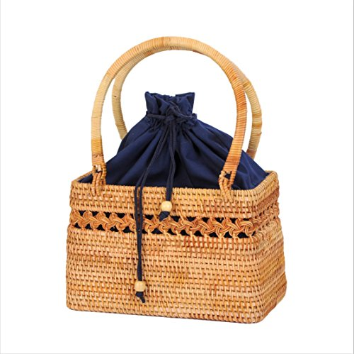 Jarong Knitting Bag Grass Leisure Beach Bag Women Ci22x7cm Vvc