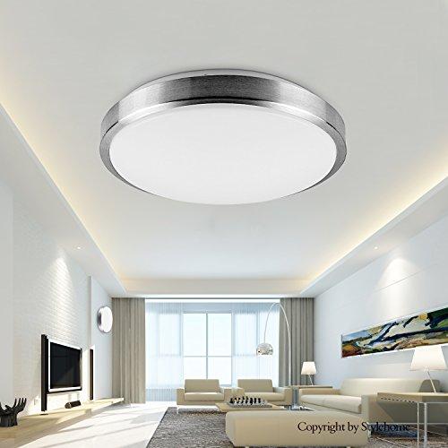 Elegant Stylehome® 12W LED Deckenlampe Deckenleuchte Küchenlampe Wandlampe Schlafzimmer  Wohnzimmer... From Style Home