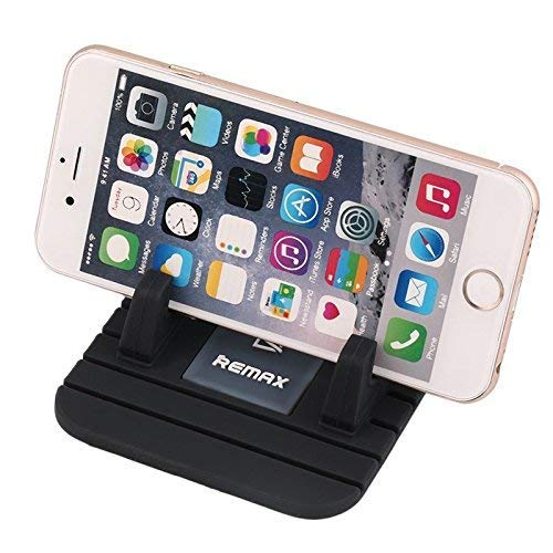 Remax Car Phone Holder, Car Phone Mount Silicone Phone Car Dashboard Car  Pad Mat Various Dashboards, Anti-Slip Desk Phone Stand Compatible with  iPhone