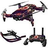 MightySkins Skin For DJI Max Coverage - Vintage Roses | Protective, Durable, and Unique Vinyl Decal wrap cover | Easy To Apply, Remove, and Change Styles | Made in the USA