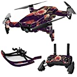 MightySkins Skin for DJI Max Coverage – Vintage Roses   Protective, Durable, and Unique Vinyl Decal wrap Cover   Easy to Apply, Remove, and Change Styles   Made in The USA Review