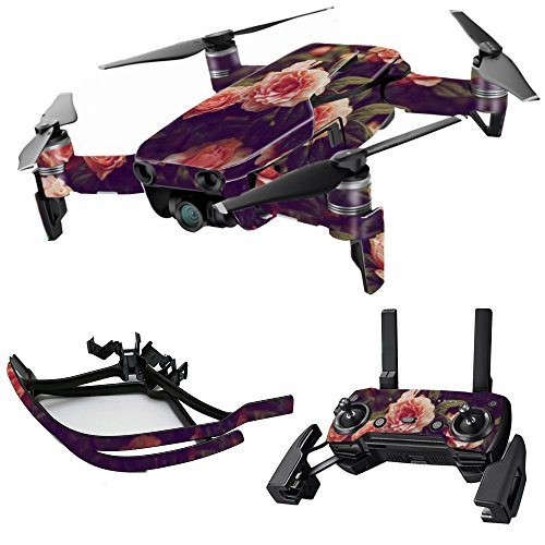 MightySkins Skin for DJI Max Coverage – Vintage Roses | Protective, Durable, and Unique Vinyl Decal wrap Cover | Easy to Apply, Remove, and Change Styles | Made in The USA Review