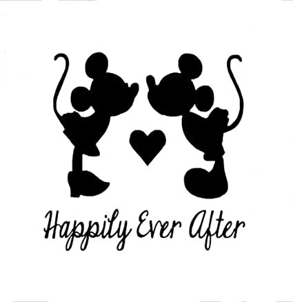 Happily Ever After Mickey And Minnie Mouse Disney Decal Vinyl