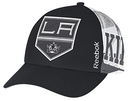 Reebok Los Angeles Kings NHL Official Playoff Structured Adjustable Hat