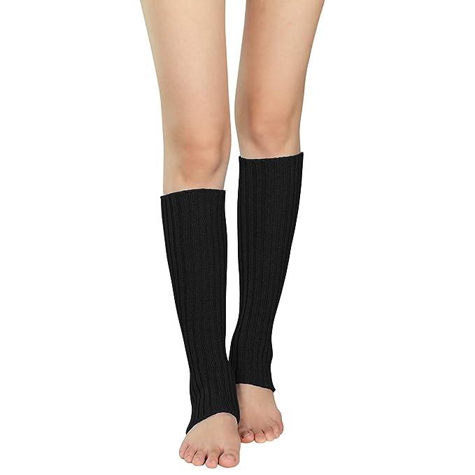 Amazon.com: Durio 80S - Calentadores de pierna para mujer ...