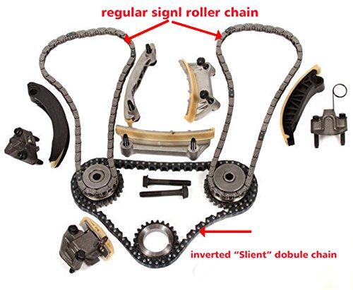 Maletín con juego de cadena para 04 - 06 cts SRX STS clásica w/engranajes: Amazon.es: Coche y moto