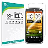 HTC One VX Screen Protector [Military-Grade] RinoGear Premium HD Invisible Clear Shield w/ Lifetime Replacements