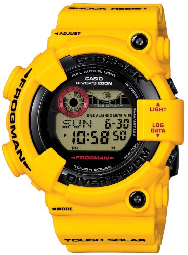 CASIO G-shock x FROGMAN GF-8230E-9JR LIGHTNING YELLOW(JAPAN IMPORT)