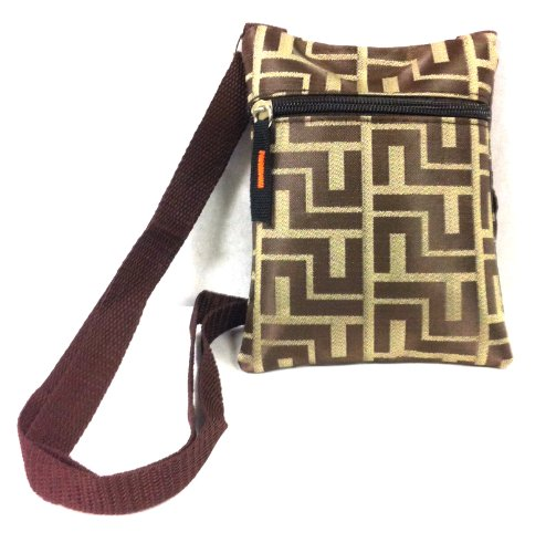 3-6 Day Delivery - Light Weight Designer Style Cross Body Purse, Zipper Compartments and Adjustable Strap