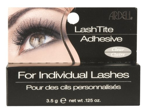 Ardell LashTite Eyelash Adhesive, Clear 0.125 oz (Pack of 4)