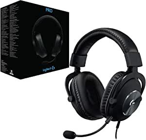 Logitech G PRO Gaming Headset 2nd Generation   PRO-G 50 mm audio Drivers   (for PC, PS4, Switch, Xbox One, VR)
