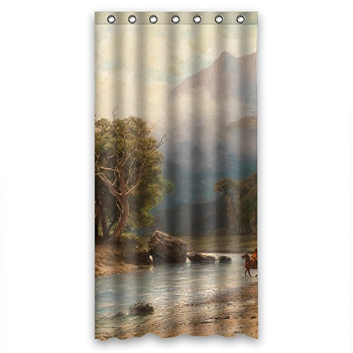 Diva Darling Spa (NASAZONE Width X Height / 36 X 72 Inches / W H 90 By 180 Cm Beautiful Scenery Landscape Art Painting Bath Curtains Polyester Fabric Ornament And Gift To Kids)