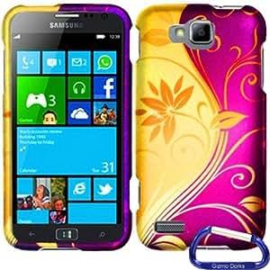 Gizmo Dorks Hard Skin Snap On Case Cover for the Samsung ATIV S T899m, Splendid Swirl