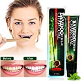 Image of MEJOY Black Bamboo Charcoal Toothpaste Activated Charcoal Toothpaste Health Fresher Breath Whitening Toothpaste