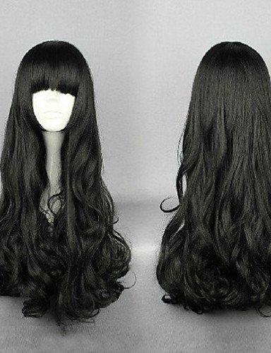 Fácil y forma cómoda y pelucas pelo europeo clásico Cosplay peluca Pony & oblícuos Pony 2