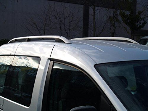 Van Demon Aluminium Roof Rails Pair Roof Bars Fits VW Caddy Maxi 04-15