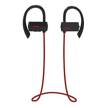 Headset Auriculares Bluetooth de los Deportes de ZDDAB, Auriculares inalámbricos Auriculares Dobles, teléfono Móvil