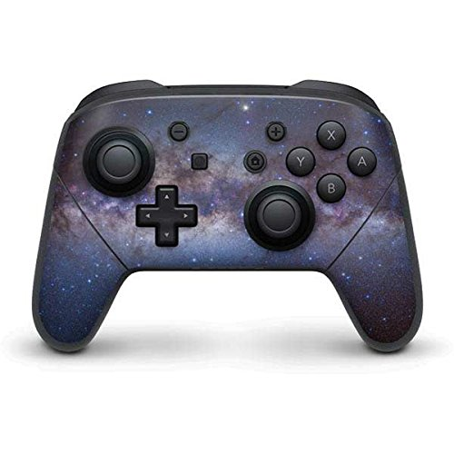 Space Nintendo Switch Pro Controller Skin - Panorama View of the Center of the Milky Way Vinyl Decal Skin For Your Switch Pro - Way Milky Panorama
