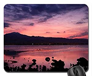 dawn over taiwan straits Mouse Pad, Mousepad (Sky Mouse Pad, Watercolor style)
