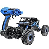 Radio Remote Control RC Rock Crawler 4WD 2.4Ghz Monster Car Truck Off Road Vehicle Toy