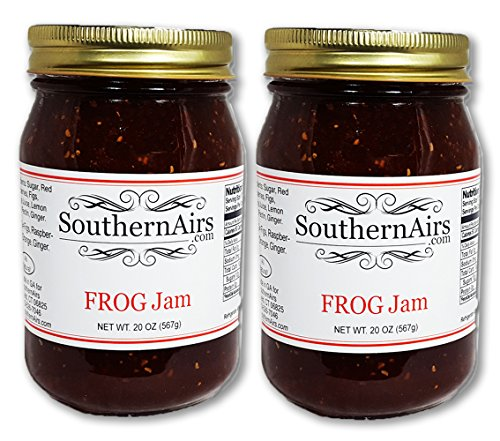 - SouthernAirs FROG Jam/Figs, Raspberries, Orange and Ginger / 2-20-ounce (2-pack)